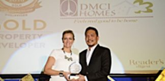 DMCI award most trusted brand 2016