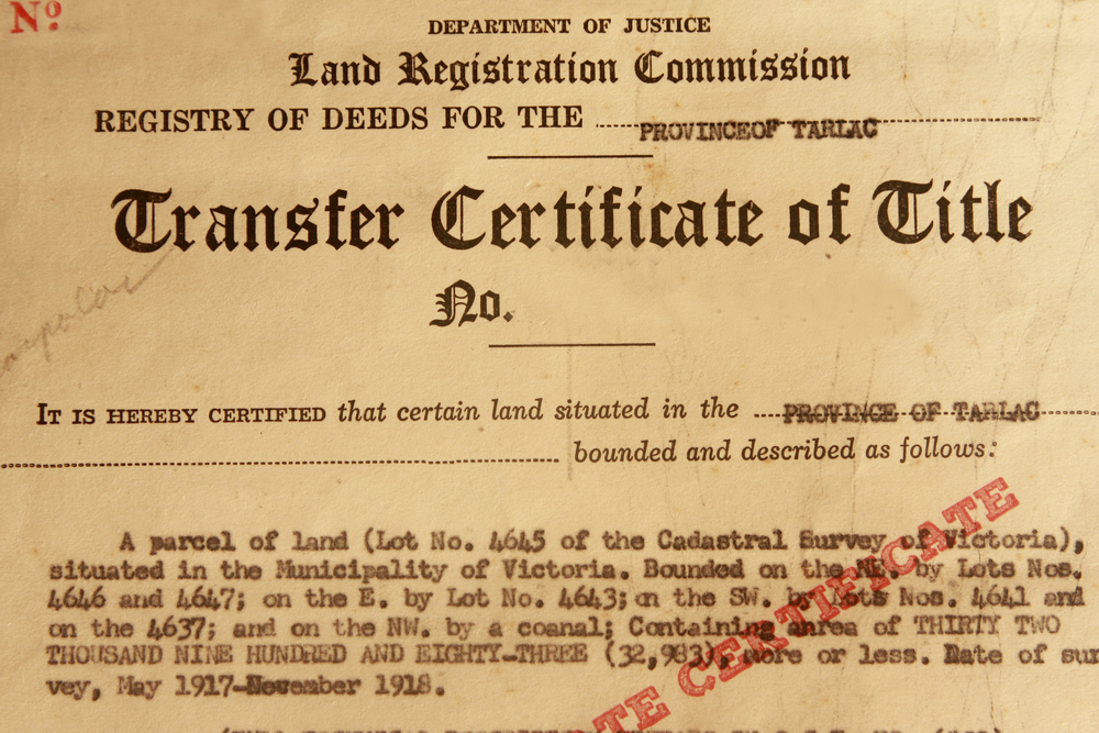 How to avoid fake land titles - Dot Property Philippines