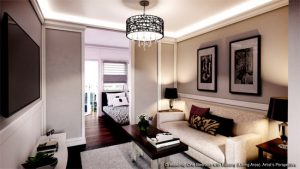 Leaf Residences' interiors