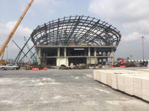 Suvarnabhumi Airport concourse extension