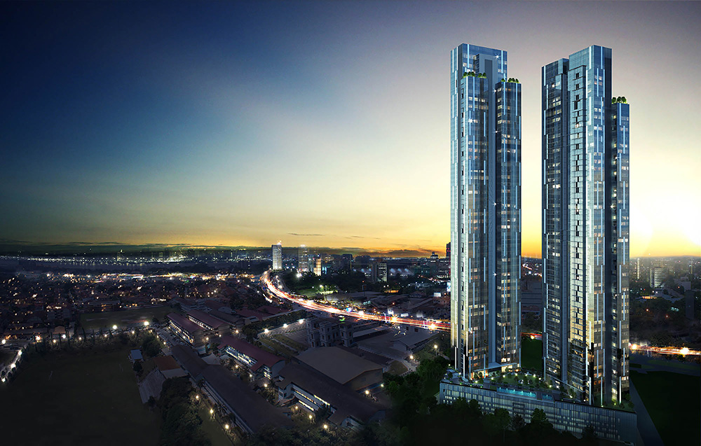 The Astaka tallest buildings Johor