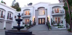 Pacquiao owns a mansion in Beverly Hills