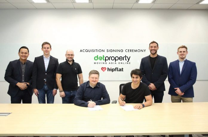 Dot Property and Hipflat acquisition
