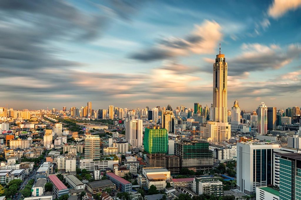 Baiyoke Tower II tallest buildings Bangkok