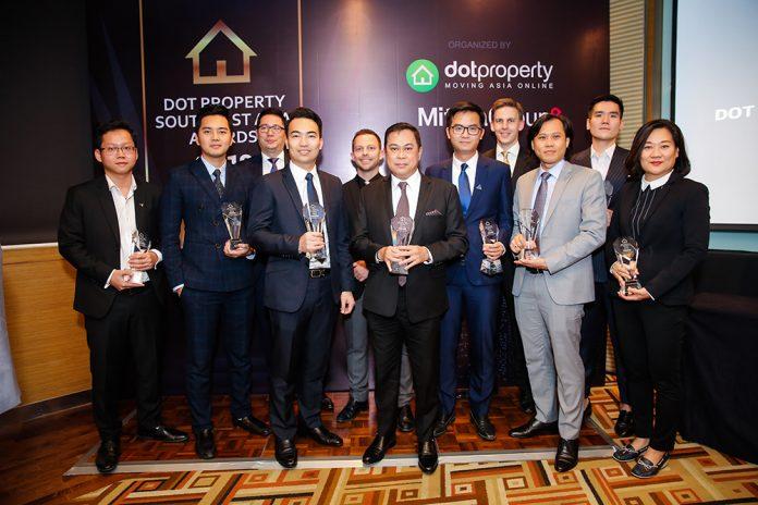 Dot Property Southeast Asia Awards 2018 winners