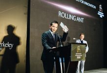 Rolling Ant was one of two Special Recognition Award for Innovation winners