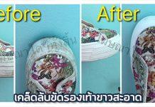 วิธีซักรองเท้าผ้าใบ,ซักรองเท้าผ้าใบ,การซักรองเท้าผ้าใบ,Life Hack_1