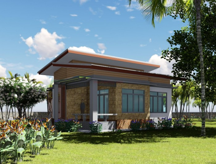8 for Modern house 80m2