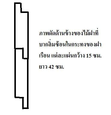บ้านทรงไทย,สร้างบ้านไม้,บ้านไม้ชั้นเดียวยกสูง,แบบบ้านไม้ชั้นเดียว,แบบบ้านไม้,แบบบ้านราคาไม่เกิน 7 แสน_21