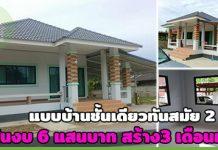 บ้านชั้นเดียวราคา 6 แสน,สร้างบ้านเองงบน้อย,แบบบ้านราคาไม่เกิน 6 แสน,บ้านชั้นเดียวราคาถูก,สร้างบ้านชั้นเดียว,แบบบ้านชั้นเดียวฟรี_1